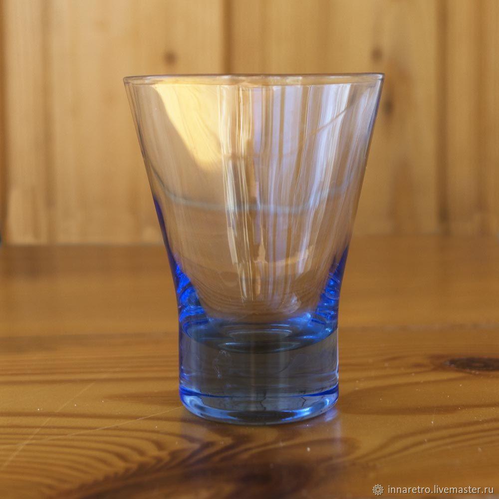 Винтаж: Маленькая синяя стопка, Стаканы винтажные, Рязань,  Фото №1