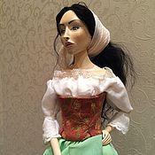 Куклы и игрушки ручной работы. Ярмарка Мастеров - ручная работа Авторская кукла La Bella Sicilia. Handmade.