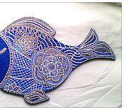 Подарки к праздникам ручной работы. Ярмарка Мастеров - ручная работа Рыбка - исполнительница желаний. Handmade.