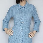 Одежда handmade. Livemaster - original item Cardigan cashmere-Angora-Merino Niagara. Handmade.
