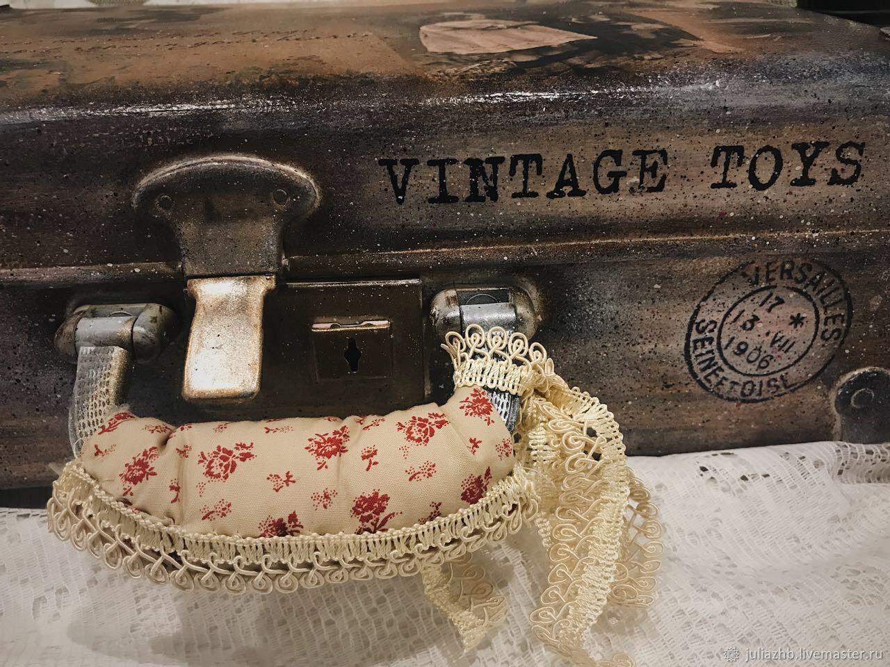 Ностальгия по детству, чемодан винтажный