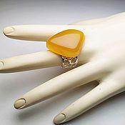 handmade. Livemaster - original item Amber. Ring.. Handmade.