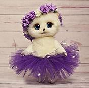 Куклы и игрушки ручной работы. Ярмарка Мастеров - ручная работа Кошечка Лилея игрушка. Handmade.