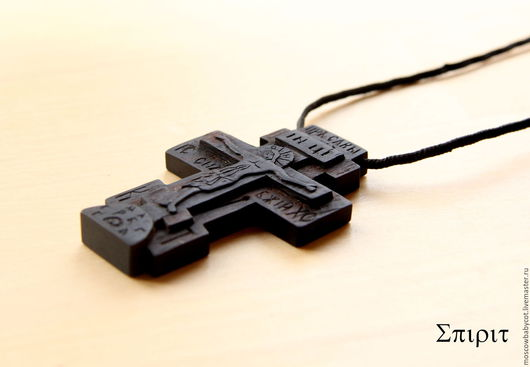 Кулоны, подвески ручной работы. Ярмарка Мастеров - ручная работа. Купить Нательный крест из дерева. Handmade. Крест, крестик из дерева