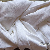 Одежда ручной работы. Ярмарка Мастеров - ручная работа Слинг шарф белый 4,7 и 5,2 метра. Handmade.