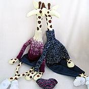 Жирафы,влюбленные Жирафы,Интерьерные жирафы