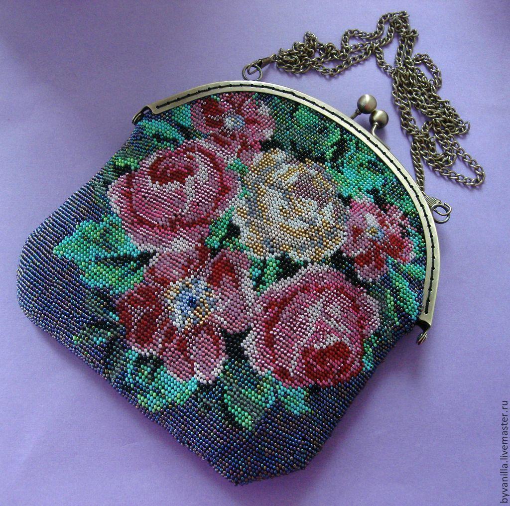 930e6586adf5 ... Женские сумки ручной работы. сумочка из бисера