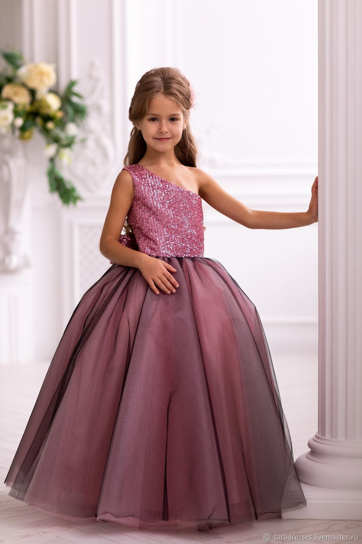 купить праздничное платье для полненькой девочки