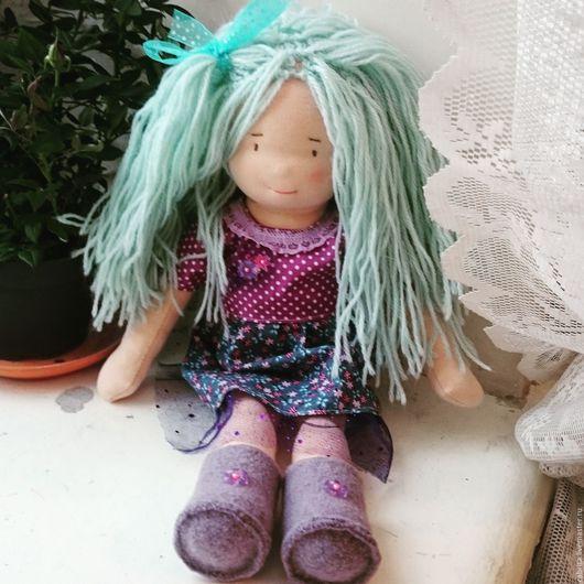 Вальдорфская игрушка ручной работы. Ярмарка Мастеров - ручная работа. Купить Кукла для Анюты. Handmade. Кукла ручной работы, кукла