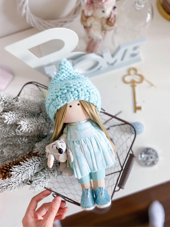 Текстильная интерьерная кукла ручной работы, Куклы Тильда, Краснодар,  Фото №1