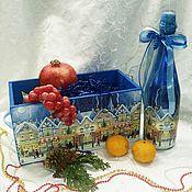 Для дома и интерьера handmade. Livemaster - original item Storage box Christmas. Handmade.