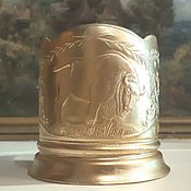 Винтаж handmade. Livemaster - original item Cup holder BISON aluminum USSR 60-Ies. Handmade.