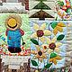 Заказать Лоскутное панно Время урожая. Текстильные Фантазии (patchwork-pskov). Ярмарка Мастеров. . Картины Фото №3