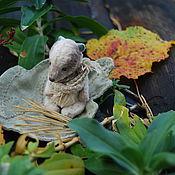 Куклы и игрушки ручной работы. Ярмарка Мастеров - ручная работа Мелкий Тютя) тедди ручной работы. Handmade.