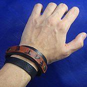 Украшения handmade. Livemaster - original item Leather bracelet winding Fate. Handmade.