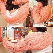Одежда ручной работы. Ярмарка Мастеров - ручная работа Шраг - рукава из шерсти Нежность. Handmade.