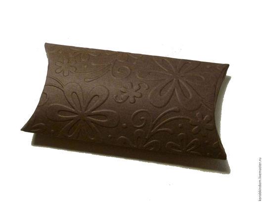 """Упаковка ручной работы. Ярмарка Мастеров - ручная работа. Купить Бонбоньерка 12х6,5 """"Цветы"""" шоколад. Handmade. Коробочка"""