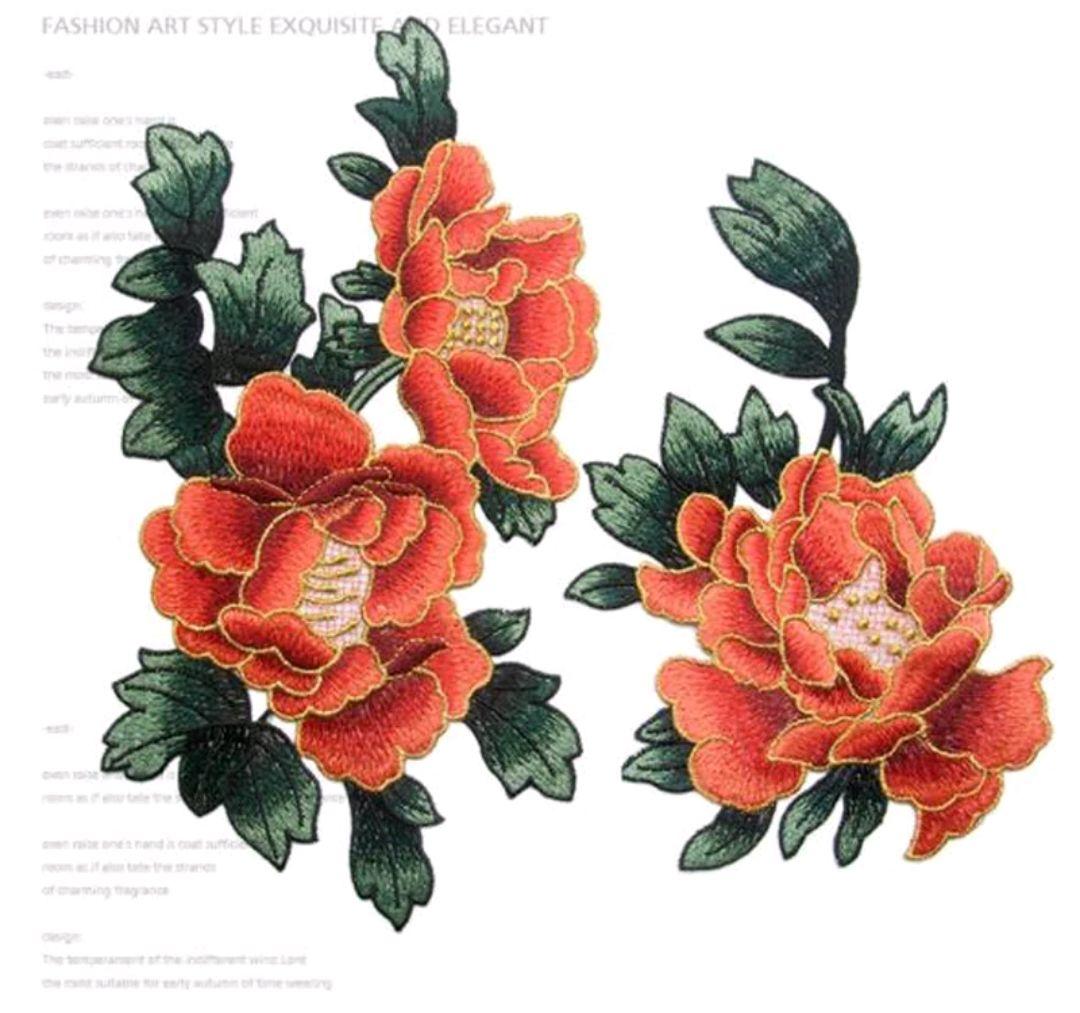 Цветы пиона, Аппликации, Балашиха,  Фото №1