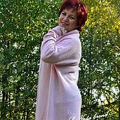 Одежда handmade. Livemaster - original item Knitted cardigan Sakura. Handmade.