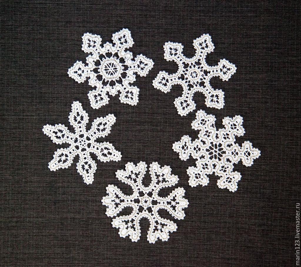 Snowflakes. A set of Christmas ornaments, Christmas decorations, Samara,  Фото №1