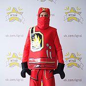Одежда handmade. Livemaster - original item Lego Ninjago Kai costume. Handmade.