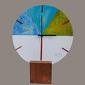 Для дома и интерьера ручной работы. Ярмарка Мастеров - ручная работа Часы Супрематизм. Handmade.