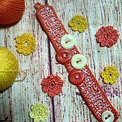 Браслет из бусин ручной работы. Ярмарка Мастеров - ручная работа Браслеты: Золотая осень. Handmade.