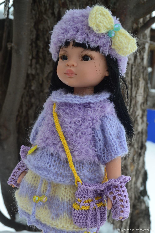 """Комплект одежды """"Фиалка"""" для куклы Paola Reina, Одежда для кукол, Самара,  Фото №1"""