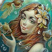Украшения ручной работы. Ярмарка Мастеров - ручная работа На глубине морской.... Handmade.