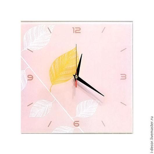 Настенные часы из коллекции Стебель - подарок для дома. Чудо. Настенные часы - подарок на новоселье, подарок на свадьбу. Бесшумные часы. Романтичный подарок. Часы в детскую. Часы в спальню.
