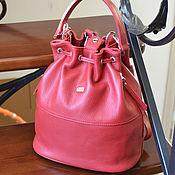 Классическая сумка ручной работы. Ярмарка Мастеров - ручная работа Сумочка-рюкзак из натуральной кожи. Модель 134. Handmade.
