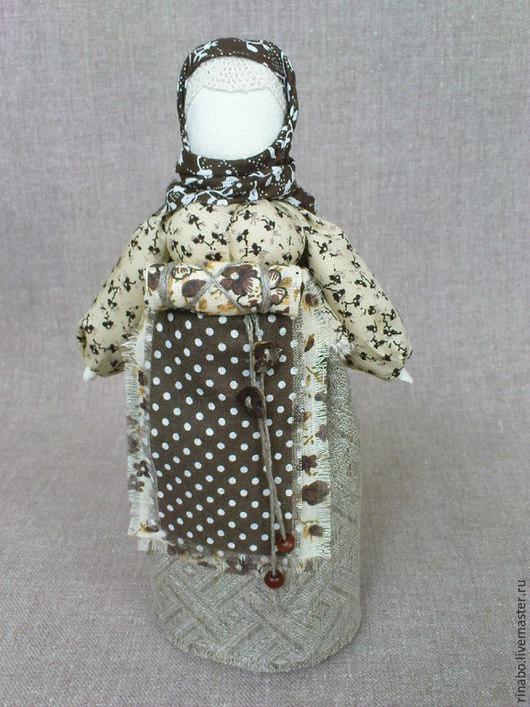 """Народные куклы ручной работы. Ярмарка Мастеров - ручная работа. Купить Кукла на беременность """"Начало рода"""". Handmade. Бежевый"""