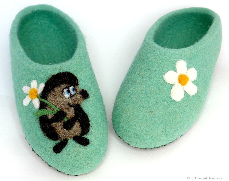 Slippers emerald the hedgehog, Slippers, Ramenskoye,  Фото №1