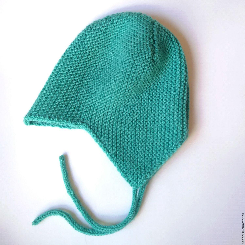 Вяжем детскую шапочку с мысиком
