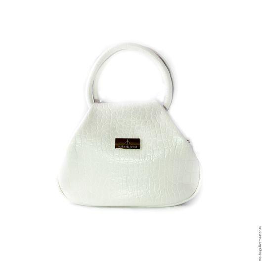 """Женские сумки ручной работы. Ярмарка Мастеров - ручная работа. Купить """"DIANA"""". Handmade. Белый, сумка женская, сумка на плечо"""