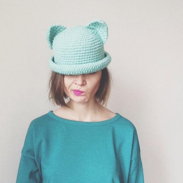 Схема Шляпа Толик с ушами
