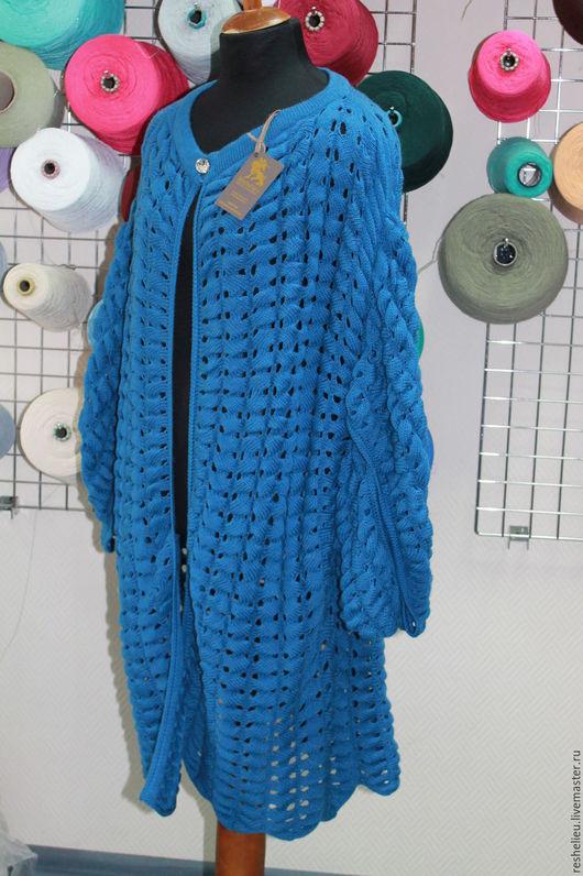 Кофты и свитера ручной работы. Ярмарка Мастеров - ручная работа. Купить Кардиган вязаный №23 из 30% итальянской шерсти. Handmade.