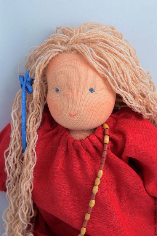 Вальдорфская игрушка ручной работы. Ярмарка Мастеров - ручная работа. Купить Вальдорфская кукла.. Handmade. Кукла, вальдорфская игрушка
