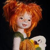 Куклы и игрушки ручной работы. Ярмарка Мастеров - ручная работа Маленькая Соня. Авторская войлочная кукла. Handmade.