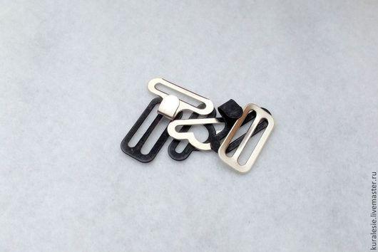 Шитье ручной работы. Ярмарка Мастеров - ручная работа. Купить Застежки для галстука. Один комплект. Handmade. Серебряный, фурнитура, галстук