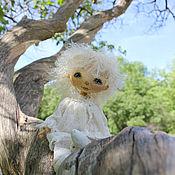Куклы и игрушки ручной работы. Ярмарка Мастеров - ручная работа Прогулка с ангелом. Handmade.