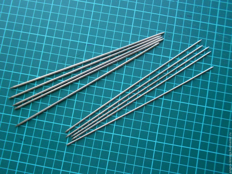 Спицы для вязания носочные