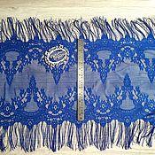 Материалы для творчества ручной работы. Ярмарка Мастеров - ручная работа Цена за 1,7м Кружево реснички 158 кружево с ресничками, шантильи. Handmade.