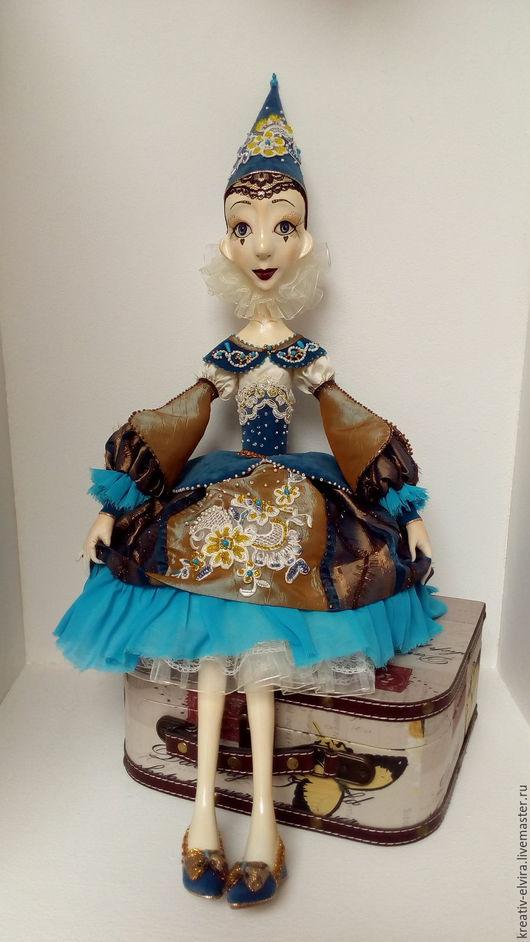 Коллекционные куклы ручной работы. Ярмарка Мастеров - ручная работа. Купить Будуарная кукла Лили. Handmade. Авторская кукла