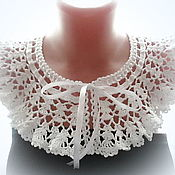 Аксессуары handmade. Livemaster - original item Lace knitted collar