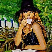 Картины и панно ручной работы. Ярмарка Мастеров - ручная работа картина маслом Долорес. Handmade.