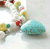 Работы для детей, handmade. Livemaster - original item Baby beads SUMMER MOTIF. Handmade.