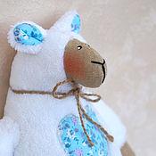 Куклы и игрушки handmade. Livemaster - original item sheep Tilda. A gift for the New year!. Handmade.