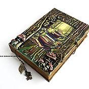 """Канцелярские товары ручной работы. Ярмарка Мастеров - ручная работа Блокнот """"Тайные знания"""". Handmade."""
