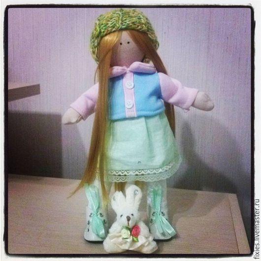 """Коллекционные куклы ручной работы. Ярмарка Мастеров - ручная работа. Купить Текстильная кукла """"Варя"""". Handmade. Кукла текстильная"""